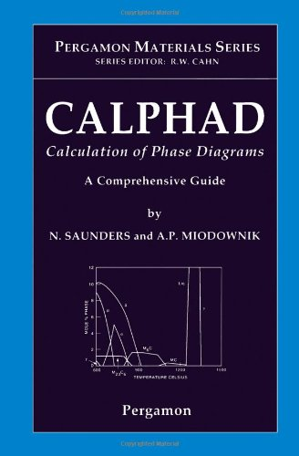 Calphad  Calculation Of Phase Diagrams   A Comprehensive Guide  Volume 1  Pergamon Materials