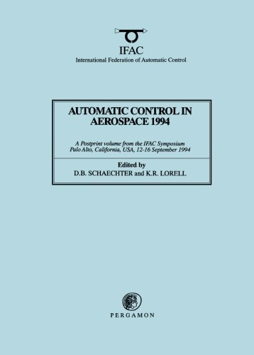 9780080422381: Automatic Control in Aerospace 1994 (Aerospace Control '94) (IFAC Postprint Volume)