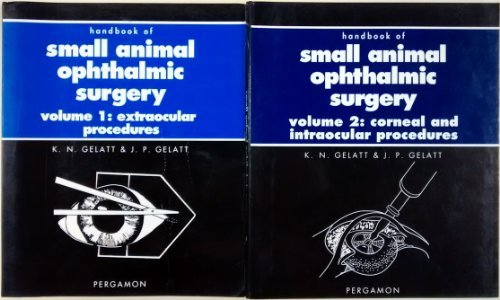 9780080422695: Handbook of Small Animal Ophthalmic Surgery: Extraocular Procedures v.1: Extraocular Procedures Vol 1 (Pergamon Veterinary Handbook)