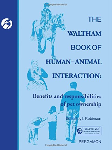 9780080422848: The Waltham Book of Human Animal Interaction: Benefits and Responsibilities of Pet Ownership (Waltham Centre for Pet Nutrition)
