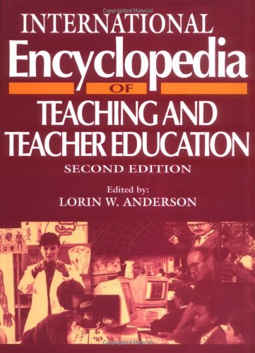 9780080423043: International Encyclopedia of Teaching and Teacher Education, (Resources in Education Series)