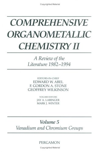 9780080423128: Vanadium and Chromium Groups (Comprehensive Organometallic Chemistry II S)