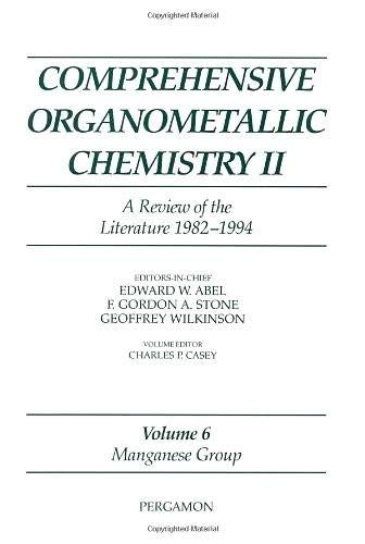 9780080423135: Manganese Group (Comprehensive Organometallic Chemistry II S)