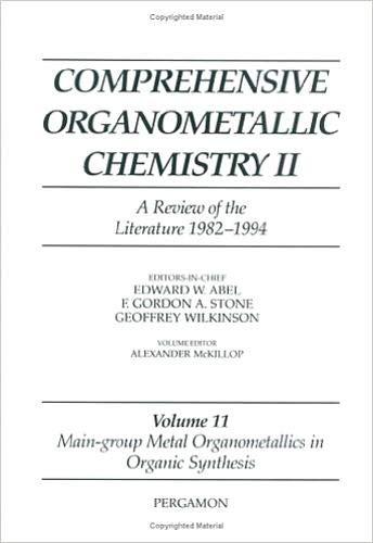 Comprehensive Organometallic Chemistry II: Main-Group Metal Organometallics: Abel, E. W./