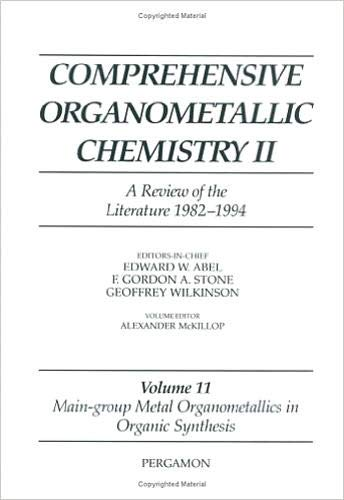 Comprehensive Organometallic Chemistry II: A Review of the Literature 1982-1994 (Hardback): E. W. ...