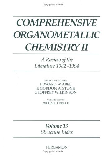 9780080423203: Structure Index (Comprehensive Organometallic Chemistry II)