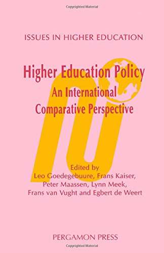 9780080423937: Higher Education Policy: An International Comparative Perspective (Issues in Higher Education)