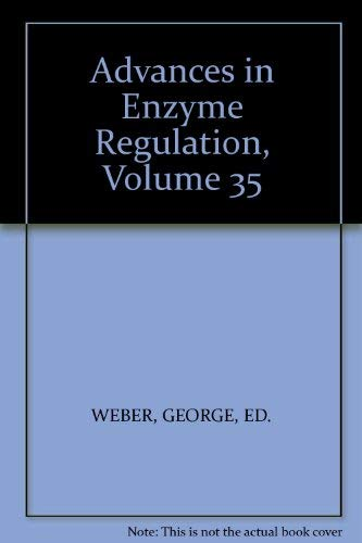 9780080426396: Advances in Enzyme Regulation, Volume 35