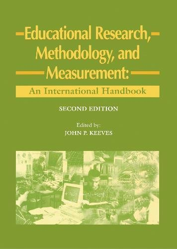 9780080427102: Educational Research, Methodology and Measurement: An International Handbook (Resources in Education Series)