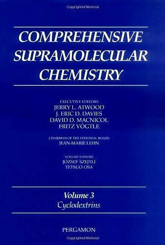 9780080427157: Cyclodextrins (Comprehensive Supramolecular Chemistry)