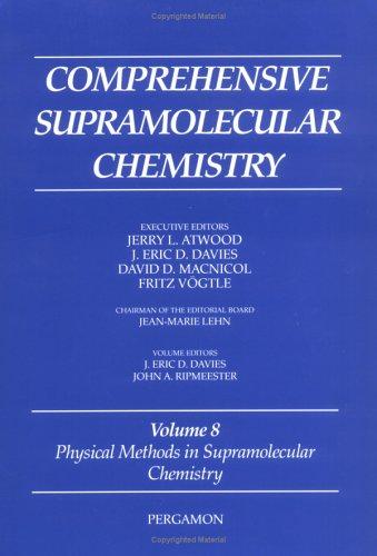 9780080427201: Comprehensive Supramolecular Chemistry: Physical Methods in Supramolecular Chemistry