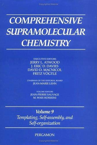 9780080427218: Templating, Self-Assembly and Self-Organization, Volume 9 (Comprehensive Supramolecular Chemistry)