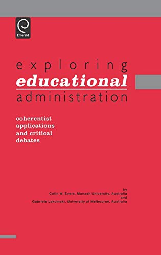 9780080427669: Exploring Educational Administration