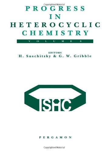 9780080427959: Progress in Heterocyclic Chemistry, Volume 8