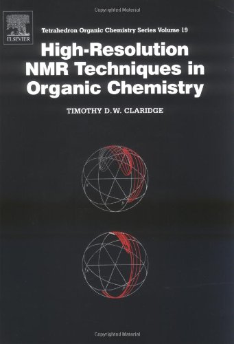 9780080427980: High-Resolution NMR Techniques in Organic Chemistry (Tetrahedron Organic Chemistry)