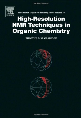 9780080427997: High-Resolution NMR Techniques in Organic Chemistry (Tetrahedron Organic Chemistry)