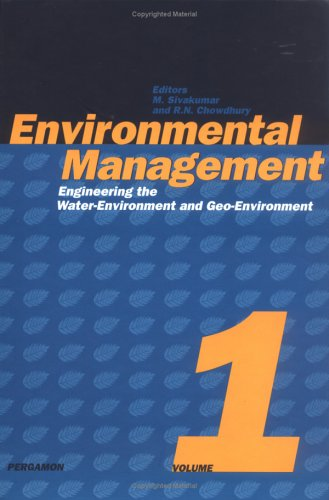 9780080428475: Environmental Management: Engineering the Water-Environment and Geo-Environment