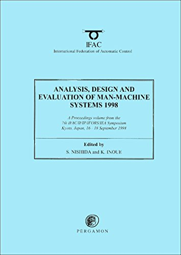 9780080430324: Analysis, Design and Evaluation of Man-Machine Systems 1998 (IFAC Proceedings Volumes)