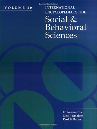 9780080430768: International Encyclopedia of Social & Behavioral Sciences
