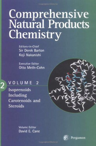 9780080431543: Comprehensive Natural Products Chemistry: Isoprenoids Including Carotenoids and Steroids (Vol. two)