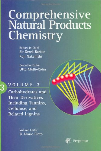9780080431550: Comprehensive Natural Products Chemistry : Carbohydrates and Their Derivatives Including Tannins, Cellulose and Related Lignins