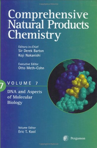 9780080431598: Comprehensive Natural Products Chemistry : DNA and Aspects of Molecular Biology