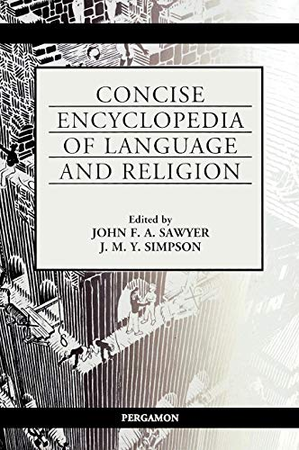 9780080431673: Concise Encyclopedia of Language and Religion