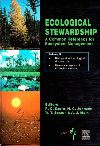9780080432069: The Ecological Stewardship: Vol.1: A Common Reference for Ecosystem Management