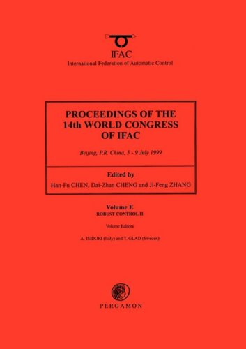 9780080432168: Robust Control II, Volume E (Proceedings of the 14th World Congress of IFAC (18-Volume Set)) (Pt. 2)