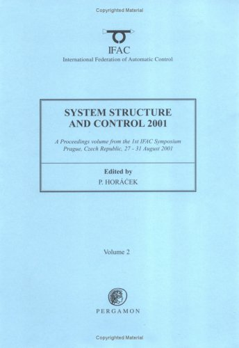 9780080434148: System Structure and Control 2001 (2-volume set) (IFAC Proceedings Volumes)