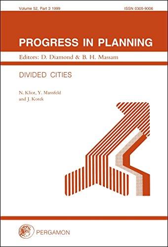 Divided Cities (Progress in Planning): N. Kliot, Y. Mansfeld, J. Kotek