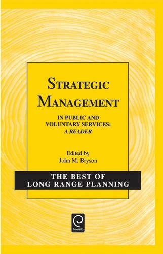 9780080434407: Strategic Management in Public and Voluntary Services: A Reader (Best of Long Range Planning - Second Series)