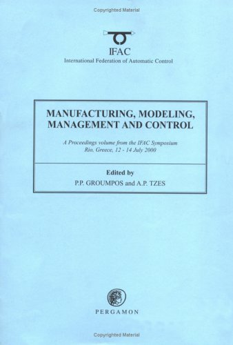 9780080435541: Manufacturing, Modelling, Management and Control (IFAC Workshop Series)