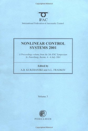 9780080435602: Nonlinear Control Systems 2001 (3-volume set) (IFAC Proceedings Volumes)