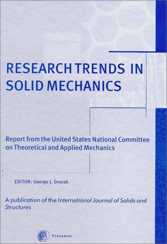 9780080435725: Research Trends in Solid Mechanics
