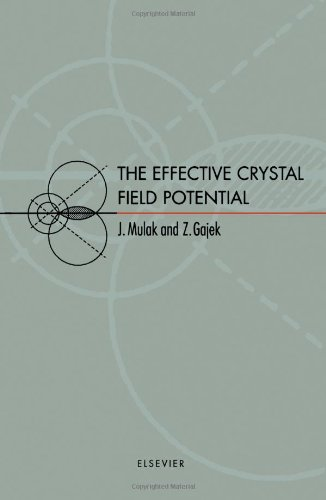 9780080436081: The Effective Crystal Field Potential
