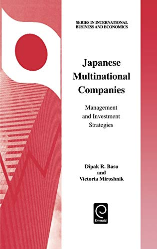 9780080436296: Japanese Multinational Companies (Series in International Business and Economics) (Series in International Business and Economics) (Methods in Computational Biology and Biochemistry)