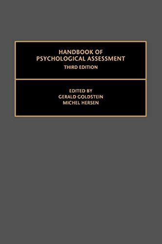 9780080436456: Handbook of Psychological Assessment