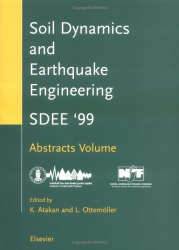 9780080436555: Soil Dynamics and Earthquake Engineering (SDEE): Proceedings of the Ninth International Conference