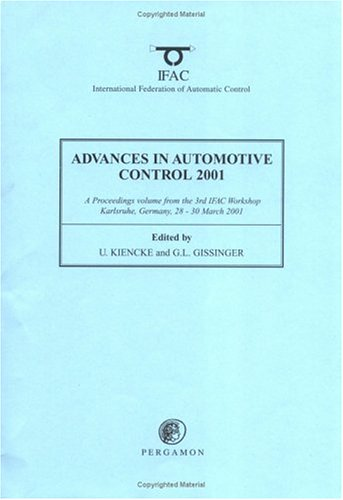 9780080436784: Advances in Automotive Control 2001 (IFAC Workshop Series)