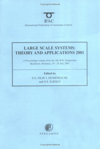 9780080436913: Large Scale Systems: Theory and Applications 2001 (IFAC Proceedings Volumes)