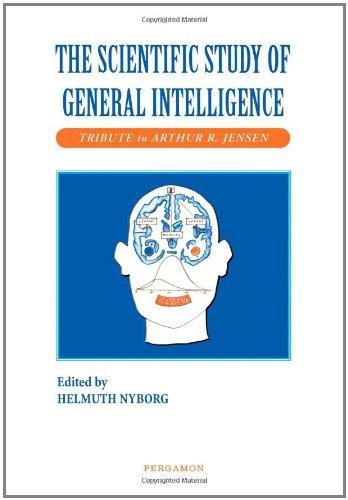 9780080437934: The Scientific Study of General Intelligence: Tribute to Arthur Jensen