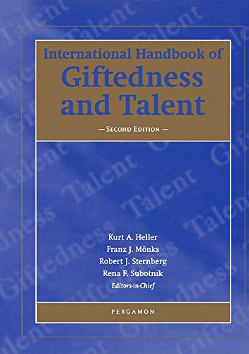 9780080437965: The International Handbook of Giftedness and Talent