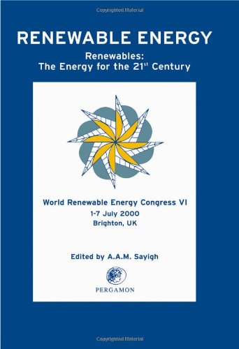 9780080438658: World Renewable Energy Congress VI: Renewables: The Energy for the 21st Century