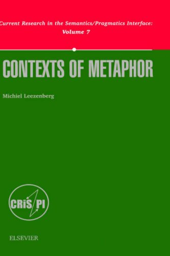 9780080438818: Contexts of Metaphor (Current Research in the Semantics/Pragmatics Interface)