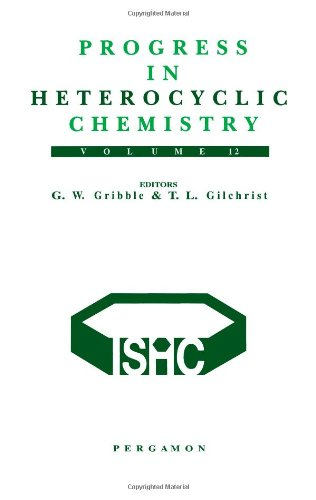 9780080438825: Progress in Heterocyclic Chemistry, Volume 12, Volume 12: A critical review of the 1999 literature preceded by three chapters on current heterocyclic topics