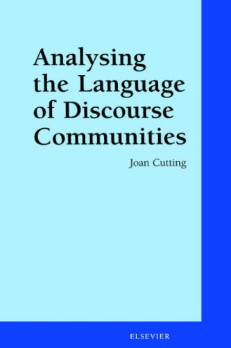 9780080438931: Analysing the Language of Discourse Communities