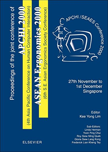 9780080438948: Proceedings of the 4th Asia Pacific Conference on Computer Human Interaction (APCHI 2000) and 6th S.E. Asian Ergonomics Society Conference (ASEAN Ergonomics 2000)