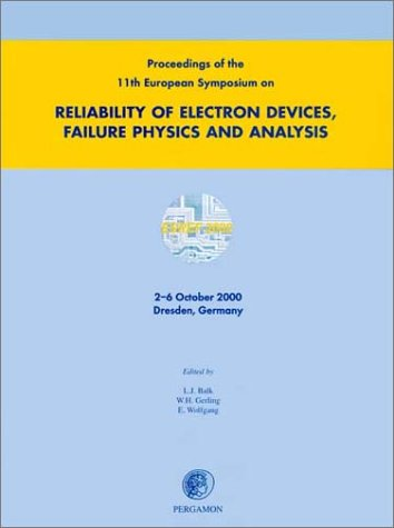 9780080439136: Proceedings of the 11th European Symposium on the Reliability of Electron Devices, Failure Physics and Analysis