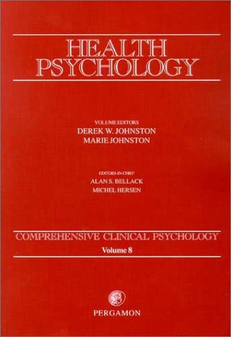9780080439341: Health Psychology (Comprehensive Clinical Psychology)